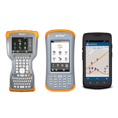 - Handheld Computers with GNSS