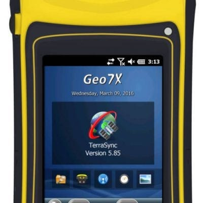 Handheld Computers with GNSS