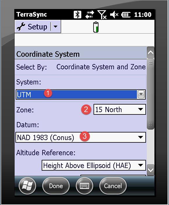 coordinatesystem