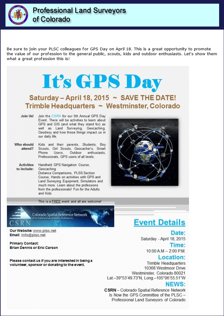 GPS Day