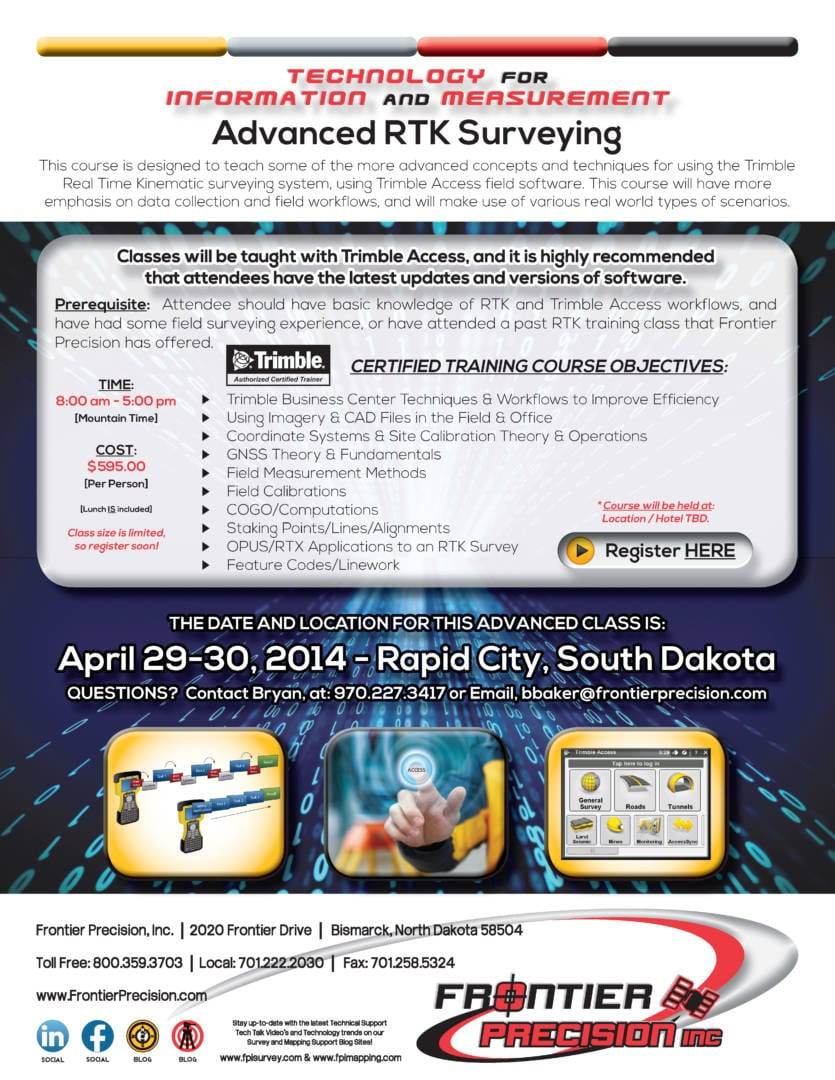 Rapid City Advanced RTK Surveying